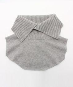 caph(カーフ)のKNIT つけ衿(シャツ/ブラウス) グレー