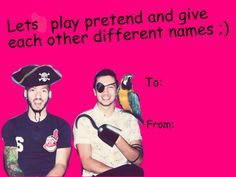 Twenty One Pilots Valentine