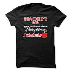 This grandpa grandfather shirt will be a great gift for you grandpa grandfather or your friend: Teachers dad Pride Tee Shirts T-Shirts