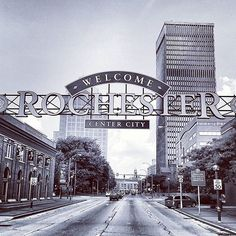 Welcome to the #ROC. Shared by @tool0loot #ThisIsROC #RochesterNY