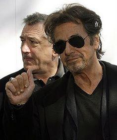 Al Pacino and Robert De Niro                                                                                                                                                     Mehr