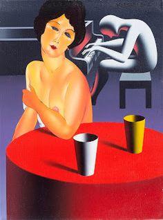 La stanza privata dell'arte by Roberto Milani: MARK KOSTABI FULL CIRCLE, dreaming Modigliani