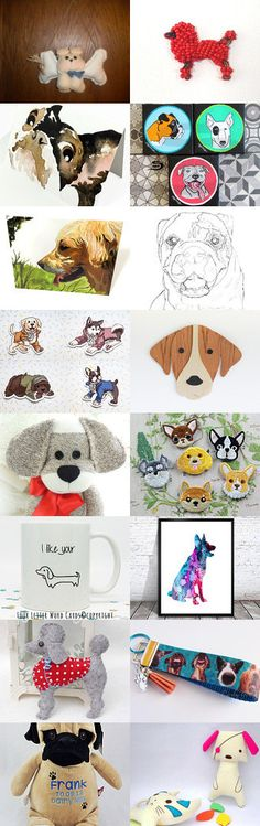 Dogs are Awesome!! by Laura Marquez on Etsy--Pinned+with+TreasuryPin.com