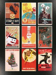 Super Mario Villains Recruitment posters