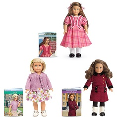 American Girl Mini Doll With Mini Book  Kit rebecca marie grace