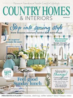 Buy subscriptions and issues of Country Homes & Interiors - March 2015 ...