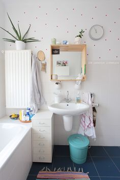 IDA interior lifestyle: Happy house bathroom {before & after}