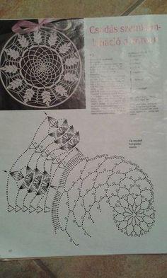 Best 12 Mandala patron We are want to say thanks if you like to sh Filet Crochet, Mandala Au Crochet, Crochet Doily Patterns, Crochet Diagram, Thread Crochet, Irish Crochet, Crochet Doilies, Knit Crochet, Crochet Dreamcatcher Pattern