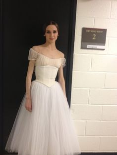 "Svetlana Zakharova in D.C. ""Giselle"" 2nd act costume. Lovely romantic tutu. Incredible woman & dancer."