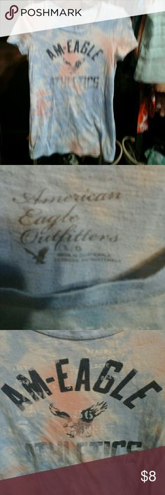 Pastel tie dye t-shirt Nice t-shirt in good condition American Eagle Tops Tees - Short Sleeve