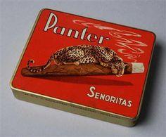 Blikje 'Panter' sigaren.