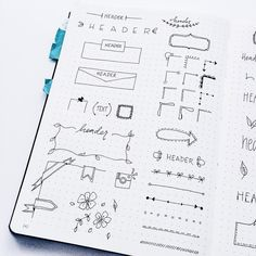Iu0027ve Created A New Collection With Doodles For Headers, Dividers Etc. Plus
