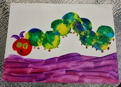 Balloon Painting: perfect for making Eric Carle inspired art!