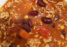 Chilis bab | Amanda receptje - Cookpad receptek Chilis, Amanda, Soup, Red Peppers, Chili, Chile, Soups