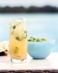 Pomelo-Mint Mojitos // More Rum Cocktails: http://www.foodandwine.com/slideshows/rum-drinks #foodandwine