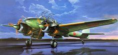 Nakajima J1N1-Sa Night Fighter Gekko Type 11 Kou 'Irving' (Tamiya box art)