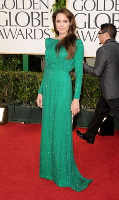 Angelina Jolie's Versace dress, 2011.