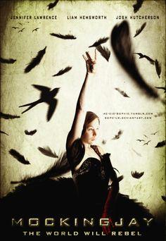 Mockingjay poster by ~Soph-LW on deviantART