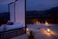 Marrakesh Roof garden...beautifullll!