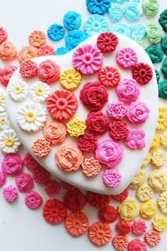 Heart cake for Cinco de Mayo