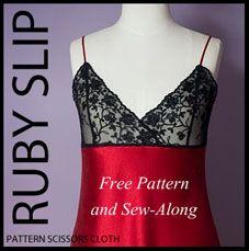 free slip sewing pattern