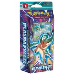 Pokemon Theme Deck - Black & White PLASMA FREEZE - LEAFEON DECK