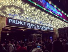 Prince. Final show...and I was there :)