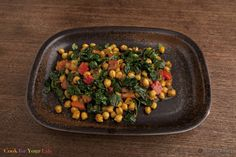 Moroccan-Style Chickpea & Chard Stew - Cook for Your Life