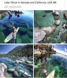 Tahoe is my absolute favorite place! perhaps i will move there one Vacation Places, Dream Vacations, Vacation Spots, Beautiful Places To Travel, Cool Places To Visit, Places To Go, Photo Trop Belle, Destination Voyage, To Infinity And Beyond