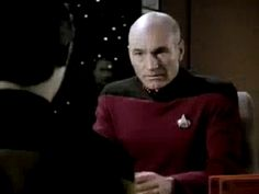 star trek frustrated facepalm patrick stewart picard over it confession the next generation jean luc picard #humor #hilarious #funny #lol #rofl #lmao #memes #cute