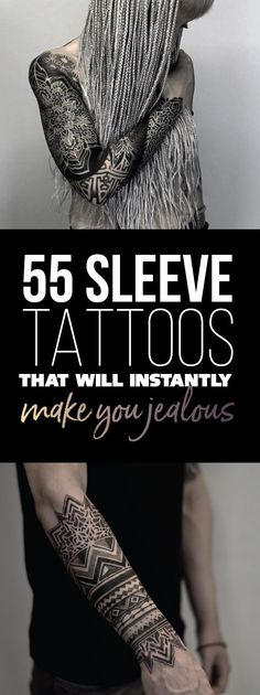 Best Body - Tattoo's - 55 Sleeve Tattoos That Will Instantly Make You Jealous...
