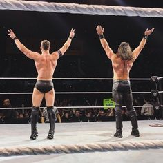 Finn Bálor and Seth Rollins Wwe Seth Rollins, Seth Freakin Rollins, Balor Club, Burn It Down, Finn Balor, Wwe Champions, Brock Lesnar, Royal Rumble, Aj Styles