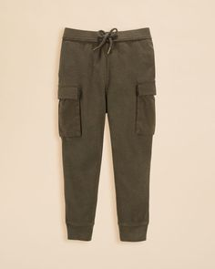 Ralph Lauren Childrenswear Girls' Waffle Knit Cargo Pants - Sizes 2-6X