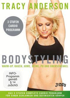 Kickstart 2015: Tracy Anderson – Bodystyling: Stufe 1-3 Fitness DVD | Sports Insider Magazin