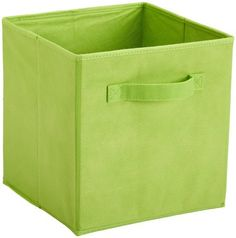 ClosetMaid 43417 Tar Cubed Closet Fabric Drawer, Green by ClosetMaid. $6.99. Inside Dimensions: 11 in. H x 10.25 in. W x 10.25 in. D. Suggest use with Cubeicals Storage Organizers. Available in a variety of colors. Material: Nonwoven polypropylene. From the Manufacturer                Green fabric drawer, 10.5-Inch by 10.5-Inch by 10.5-Inch.                                    Product Description                Perfect for organizing and cutting down on clutter, thes...