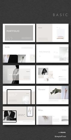 & Minimal Presentation Template ARTICT BW Photography Portfolio by flowless on Simple & Minimal PowerPoint, Keynote Template Black & White Presentation PowerPoint Template MURO - PowerPoint Template, NIKOLAY Photography Portfolio , Zero&MinPT Design Portfolio Layout, Layout Design, Portfolio D'architecture, Design De Configuration, Mise En Page Portfolio, Ppt Design, Photography Portfolio Layout, Fashion Portfolio Layout, Graphic Portfolio