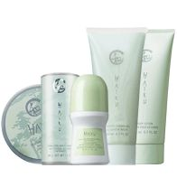Haiku 5-Piece Favorites of the Fragrance Collection -  A soft and warm floral evoking the serenity of a beautiful Japanese garden, blooming with delicate jasmine, lilies and sparkling citrus. Collection includes: Eau de Parfum Spray, Body Lotion, Roll-On Anti-Perspirant Deodorant, Shimmering Body Powder, Solid Fragrance Stick. Regularly $23.00, buy Avon Perfume products at http://eseagren.avonrepresentative.com
