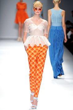 Cacharel peplum blouse