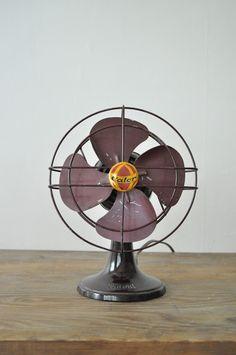 Ventilador vintage contra el calor