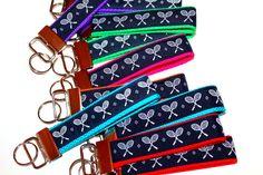Tennis Key Chain Tennis Gift Tennis Team TEnnis Key by cinchbelts