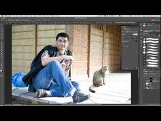 How to merge photos realistically in Photoshop CS6 tutorial - YouTube