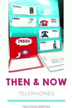 Exploring the history of telephones will have your students hooked on history! This comprehensive pack covers the history of telephones from the earliest types of phones to today's iPhones with reading texts, timelines, website links and QR codes. It also has a wonderful diorama with which to display student work. #techteacherpto3 #history #socialstudies #longagoandtoday #grade1 Primary School Teacher, My Teacher, Teaching History, Teaching Resources, Social Studies Activities, Australian Curriculum, Qr Codes, Family Traditions, Student Work