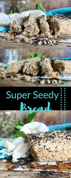 A healthy, gluten free bread loaded with nuts and seeds, this is the perfect breakfast or snack option, and the perfect vehicle for avocado, nut butter or tart, fruity jam!