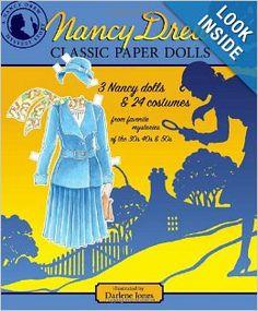 Nancy Drew Classic Paper Dolls: Darlene Jones, Paper Dolls, Jennifer Fisher: 9781935223405: Amazon.com: Books
