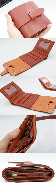 Wallet idea I like the card holder as one piece