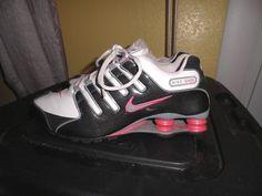 Nike 366571-101 Shox NZ Patent Training Sneakers Size 8  Nike  LowTop 713cf20e5