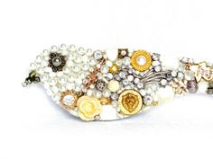 kleiner Schmuck Mosaik Vogel Geschenkidee Frauen von LonasART auf DaWanda.com