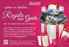 """Realizzazione grafica di BUONO REGALO per """"Itinerantes, guide turistiche ed ambientale"""""""