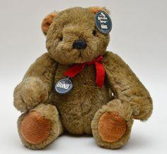 Vintage Gunder Teddy Bear by Gund 11 Tall Jointed Plush by vtgwoo