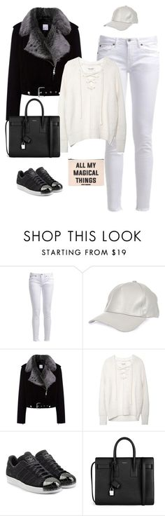 """Unbenannt #941"" by top-styes ❤ liked on Polyvore featuring Pepe Jeans London, River Island, La Bête, adidas Originals, Yves Saint Laurent and Forever 21"